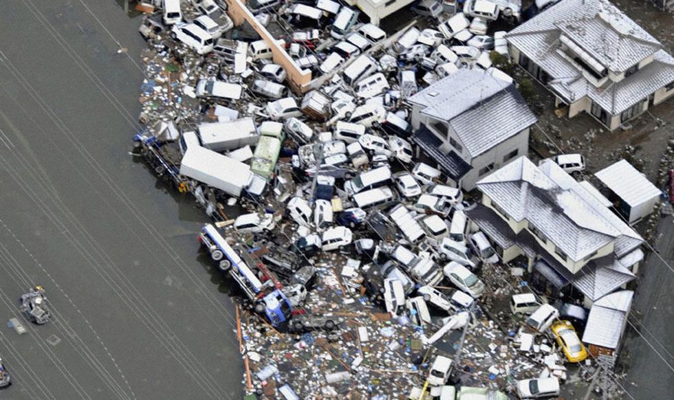 日本震后疮痍 - 子君 - 子君