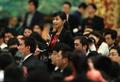 高清:总理见面会上的记者