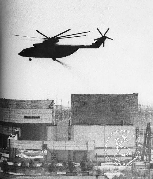 1986年切尔诺贝利核泄漏事故现场