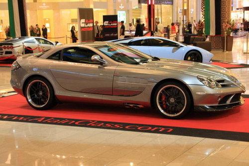 迪拜王子的豪车高清图片