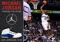 组图:典藏记忆 二度复出的乔丹及其专属战靴