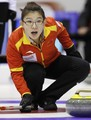 冰壶世锦赛中国队告负