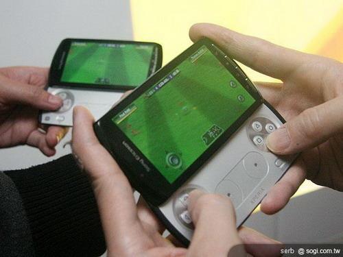 索爱psp游戏手机中文版开卖 售4200元
