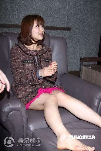 《3d肉蒲团》主演脚底按摩 雷凯欣:感觉瘦了