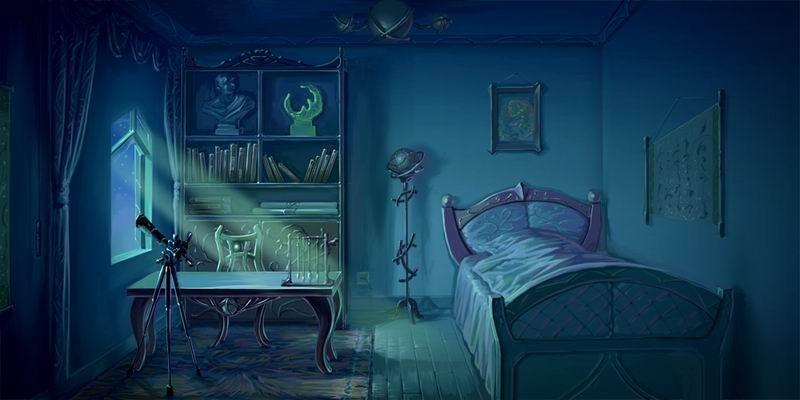 龙翔爷爷卧室