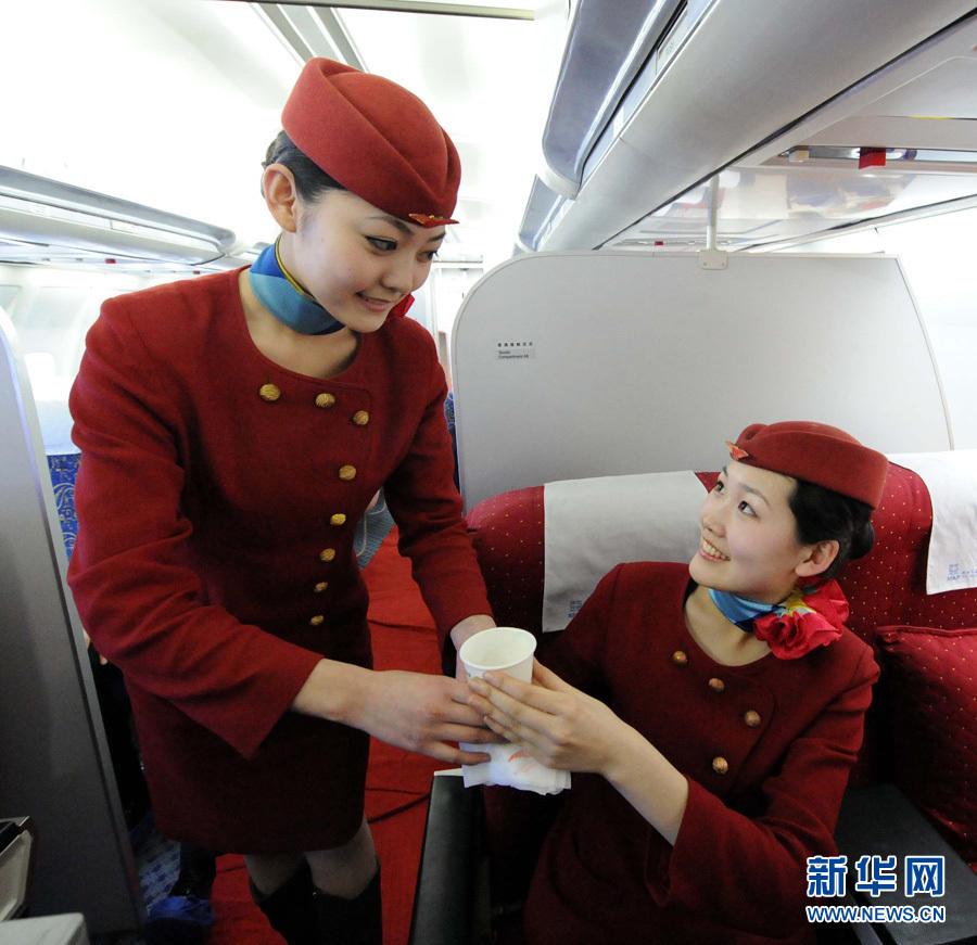 空姐是这样 炼成 的 美丽背后的艰辛图片
