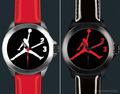 乔丹为名人赛定制手表 限量100块工艺精良
