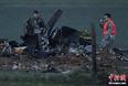 组图:美军A-10战机在德国坠毁 距村庄仅200米