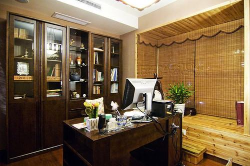 书房,纯东南亚风格