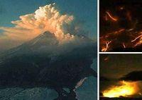 世界七大火山闪电:柴藤火山曾出现壮观场景