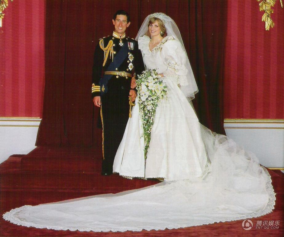 高清:查尔斯王子和戴安娜王妃的盛大婚礼