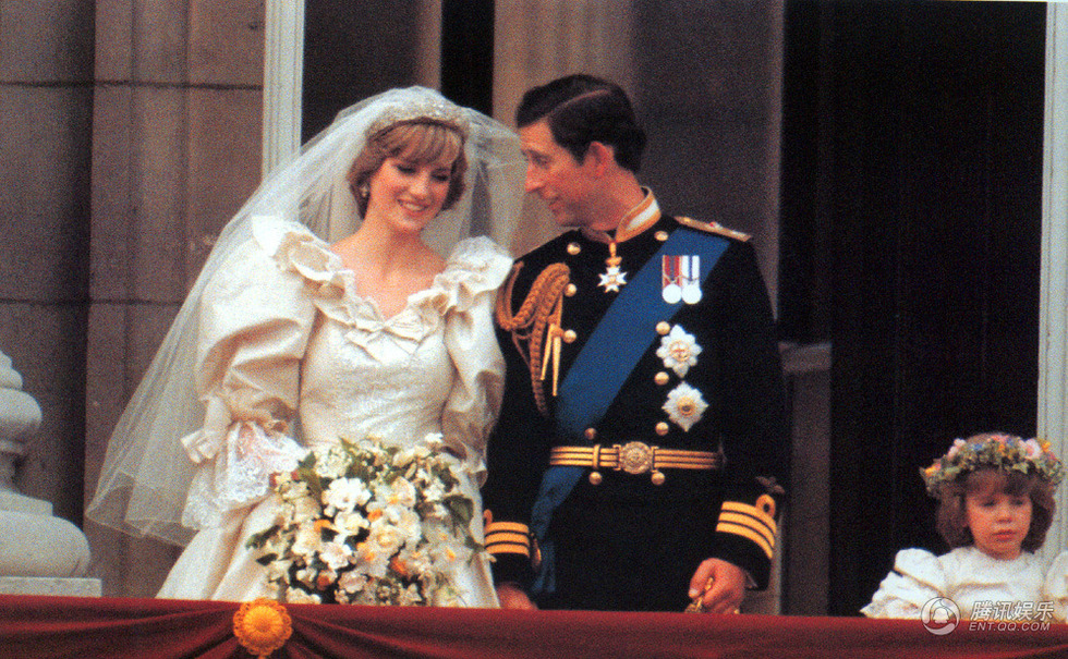 查尔斯王子和戴安娜王妃的盛大婚礼