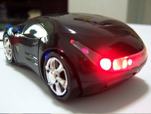 韩版法拉利汽车鼠标高清图片