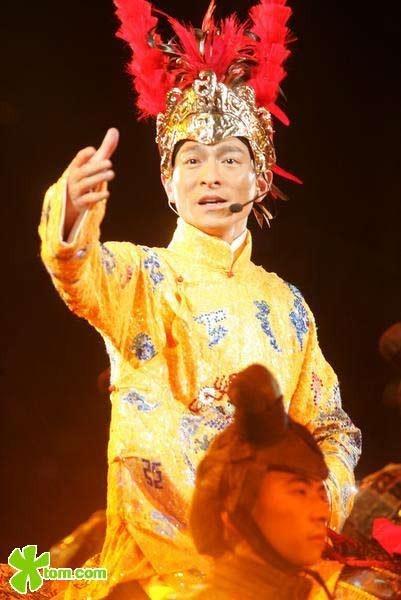 组图:刘德华演唱会经典造型回顾图片