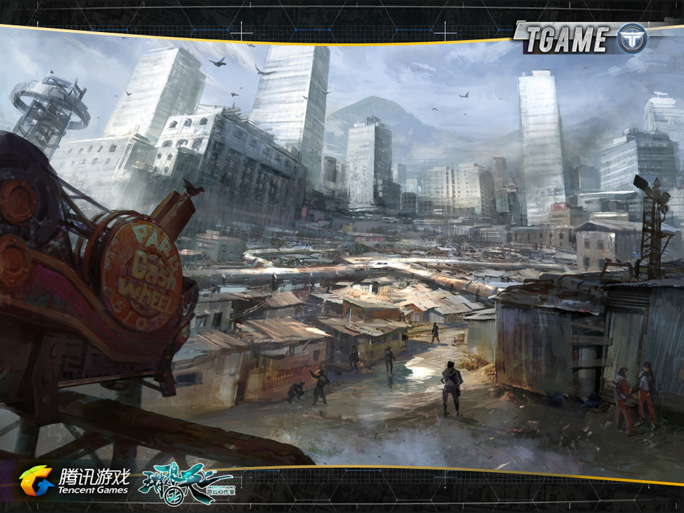 腾讯新fps游戏tgame精美原画欣赏