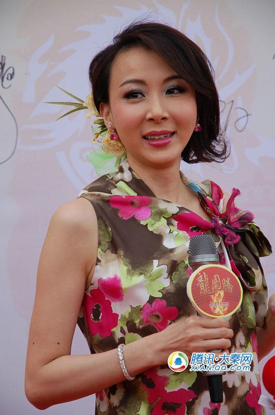 台湾第一美女现身西安 萧蔷:享受单身自由 腾