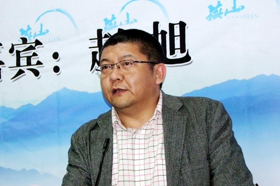 赵旭老师在讲堂108期现场