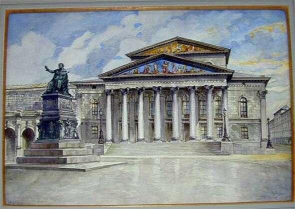 希特勒绘画作品欣赏 知乎精选 第6张