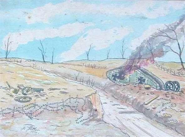 希特勒绘画作品欣赏 知乎精选 第8张