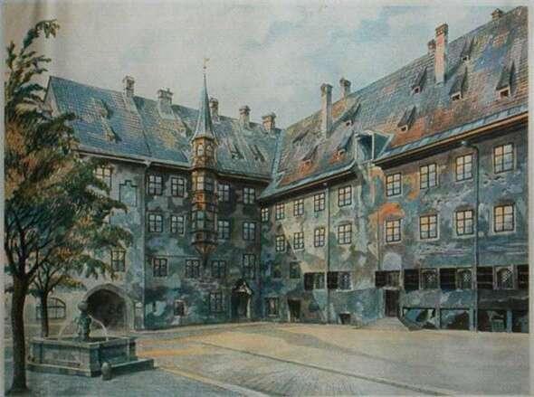 希特勒绘画作品欣赏 知乎精选 第5张