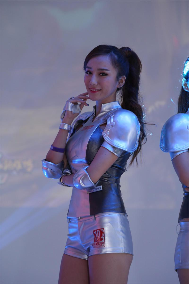 chinajoy美女 腾讯游戏
