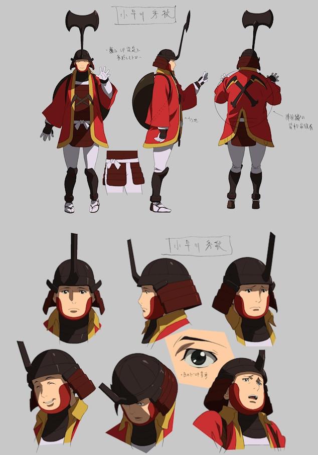 《战国BASARA JudgeEnd》新角色人设图