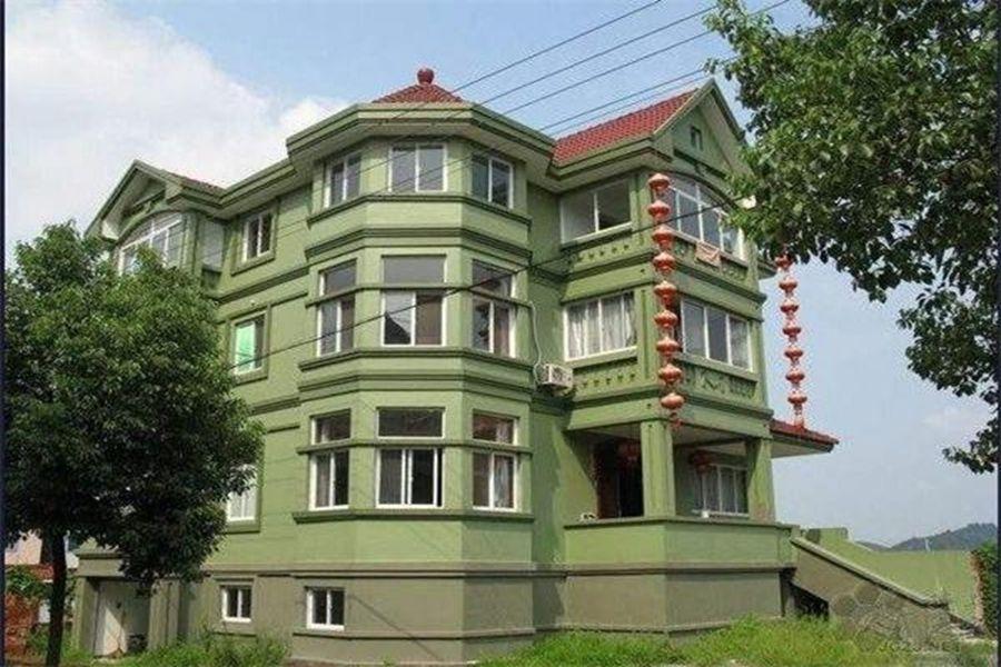 网友晒中国某农村惊人住房 堪比别墅图片