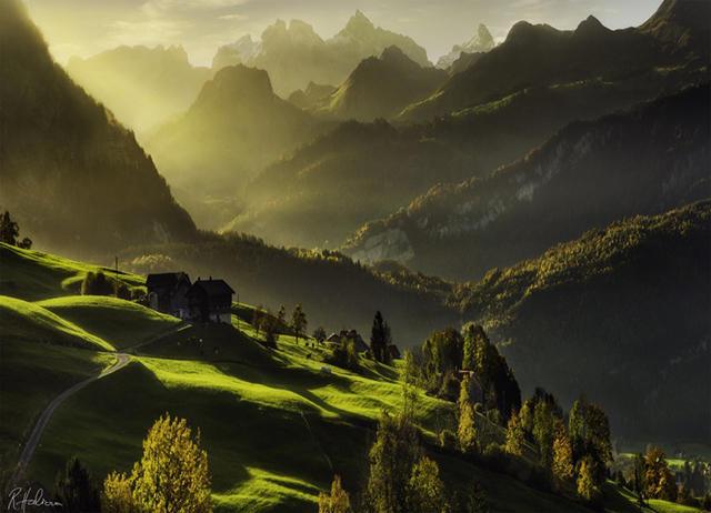 """""""世界公园""""瑞士 - 海阔山遥 - ."""