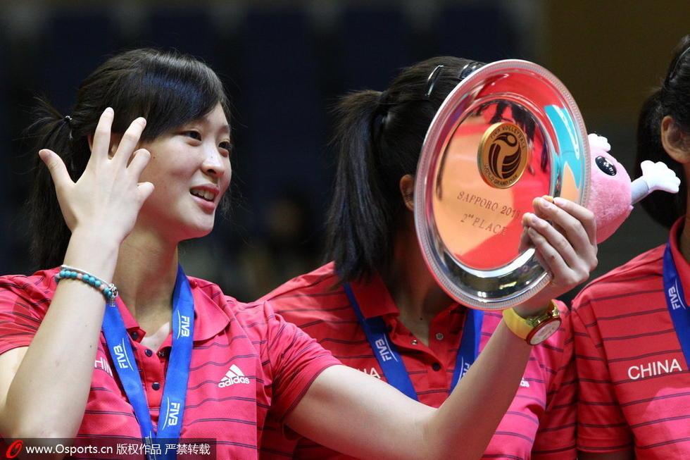 """中国女排队员惠若琪""""照镜子""""高清图片"""