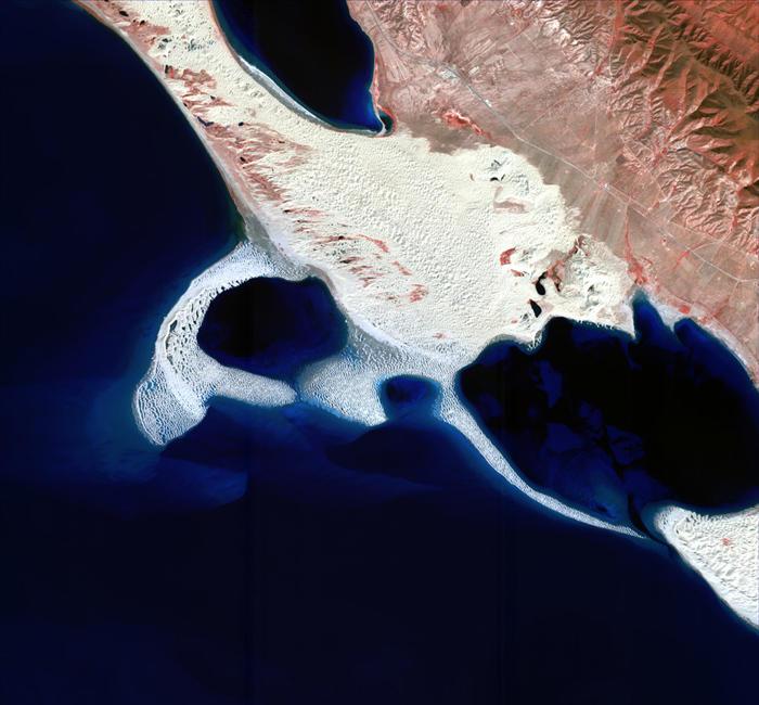 高分一号卫星拍摄中国自然地貌照片发布 - 海风 - 海风的博客