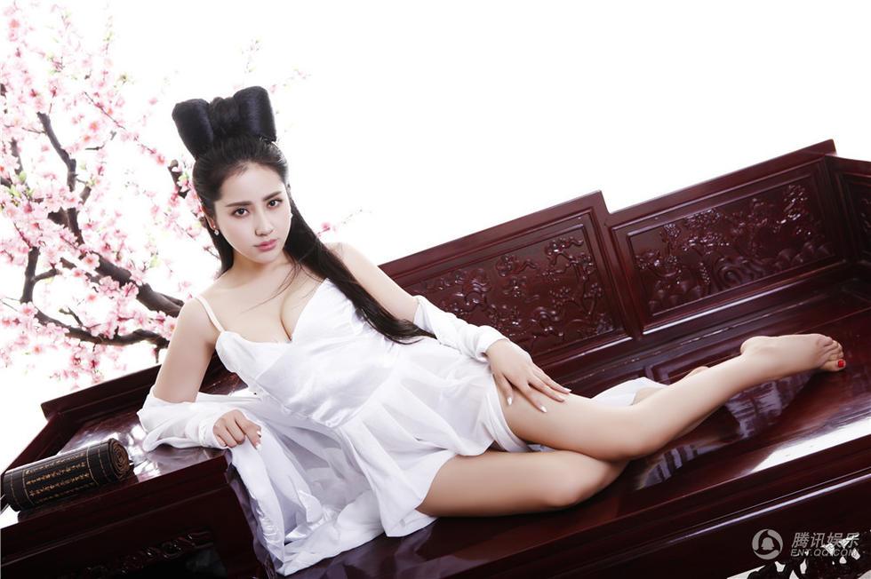 """再现聂小倩意乱情迷的迷人风采,网友也惊呼""""史上最性感""""聂小倩"""