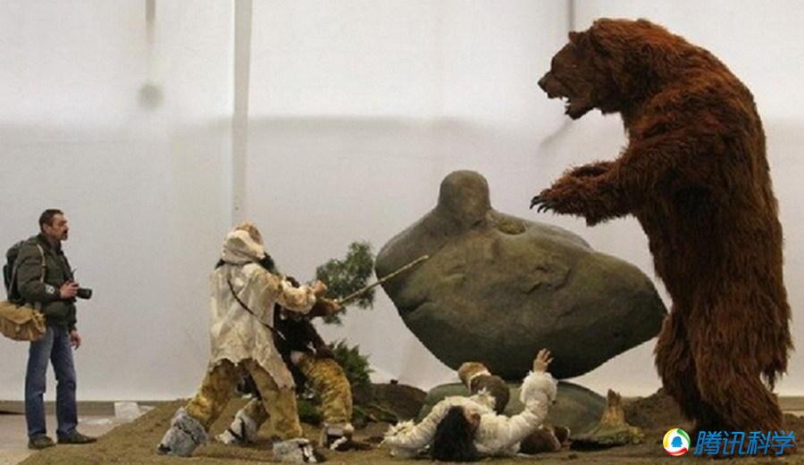 恐鳄吃恐龙,泰坦巨蟒,巨猿照片 4
