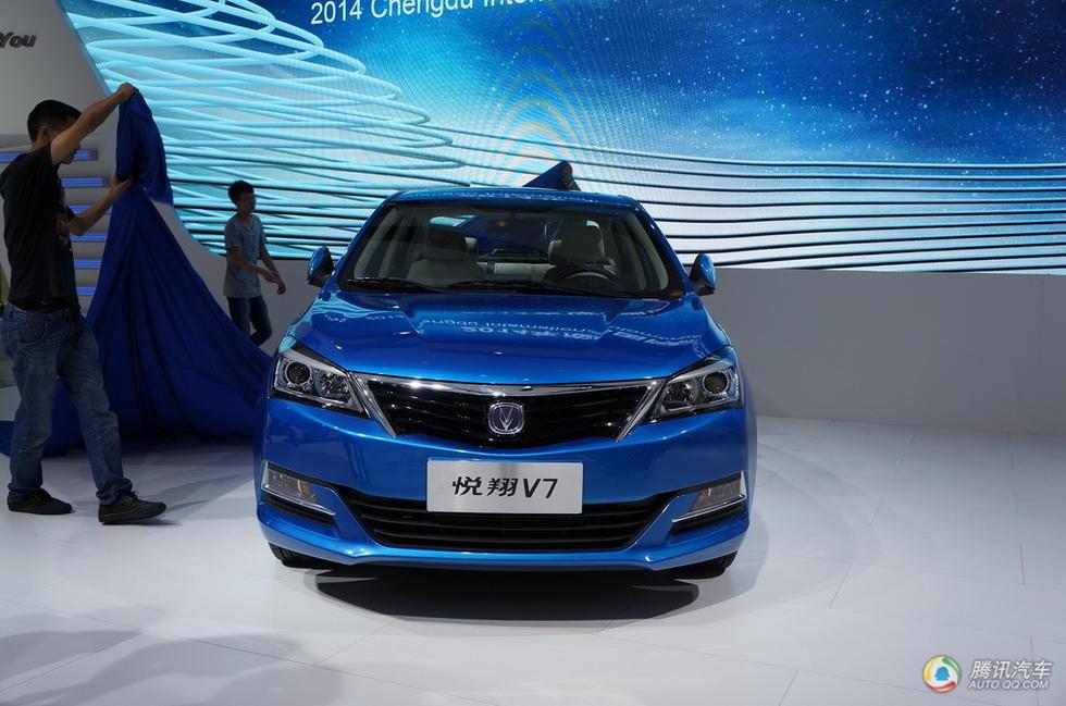 新车的市场定位要高于悦翔V5,预售价会在7-10万元之间.长安悦翔高清图片