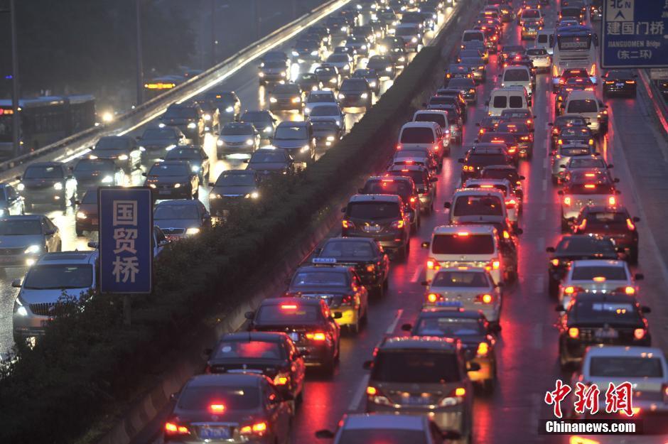 """北京突降暴雨 天桥变""""天河""""2014.9.2 - fpdlgswmx - fpdlgswmx的博客"""