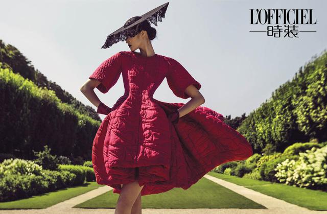 陈漫携手时尚杂志深入探秘巴黎时装灵魂图片