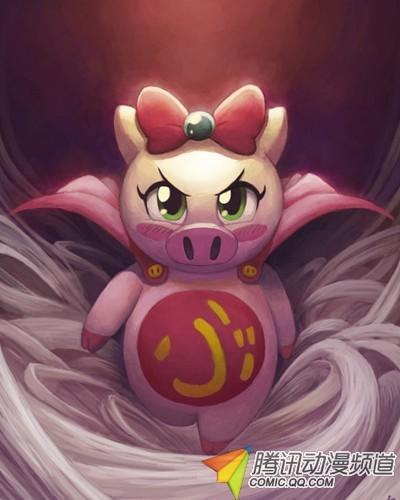 钩织吉祥猪