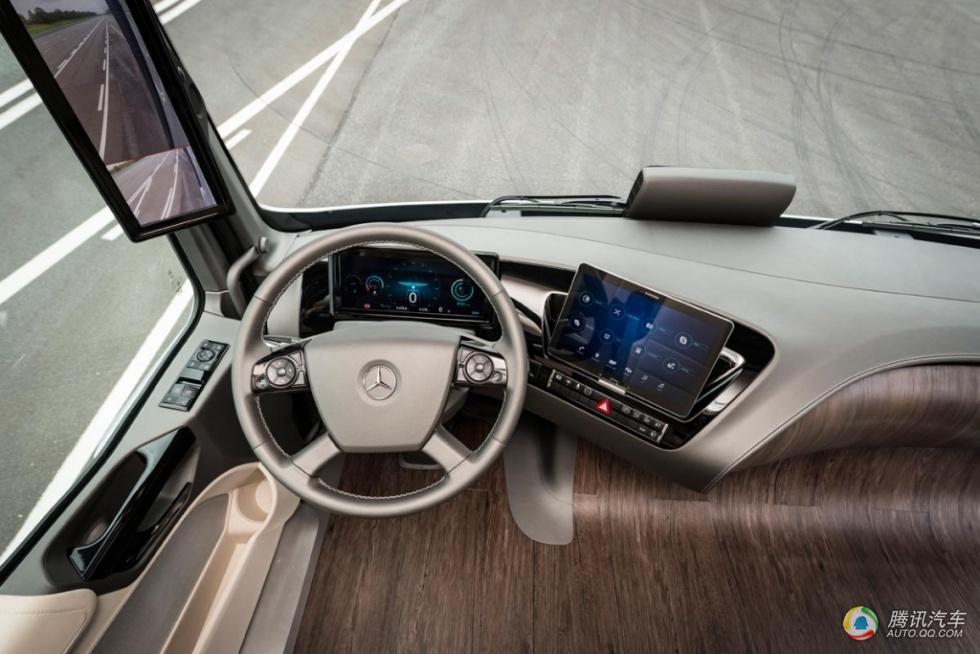 货车也疯狂 奔驰未来卡车2025可无人驾驶高清图片