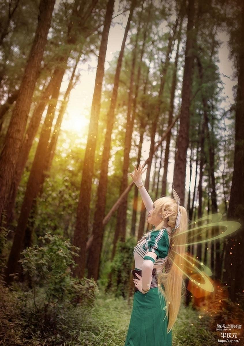 VOL.《刀剑神域 妖精之舞篇》莉法COS - 樱田优姬 - 二次元会馆