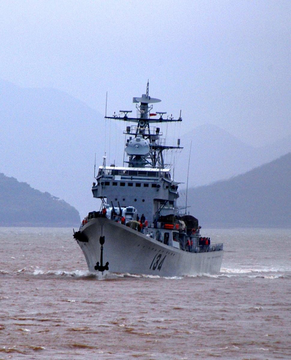 中国海军驱逐舰大全