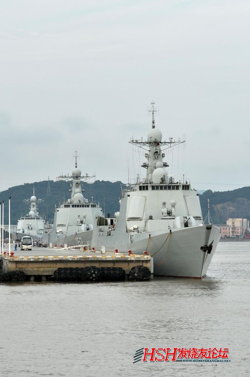 中国驱逐舰大全