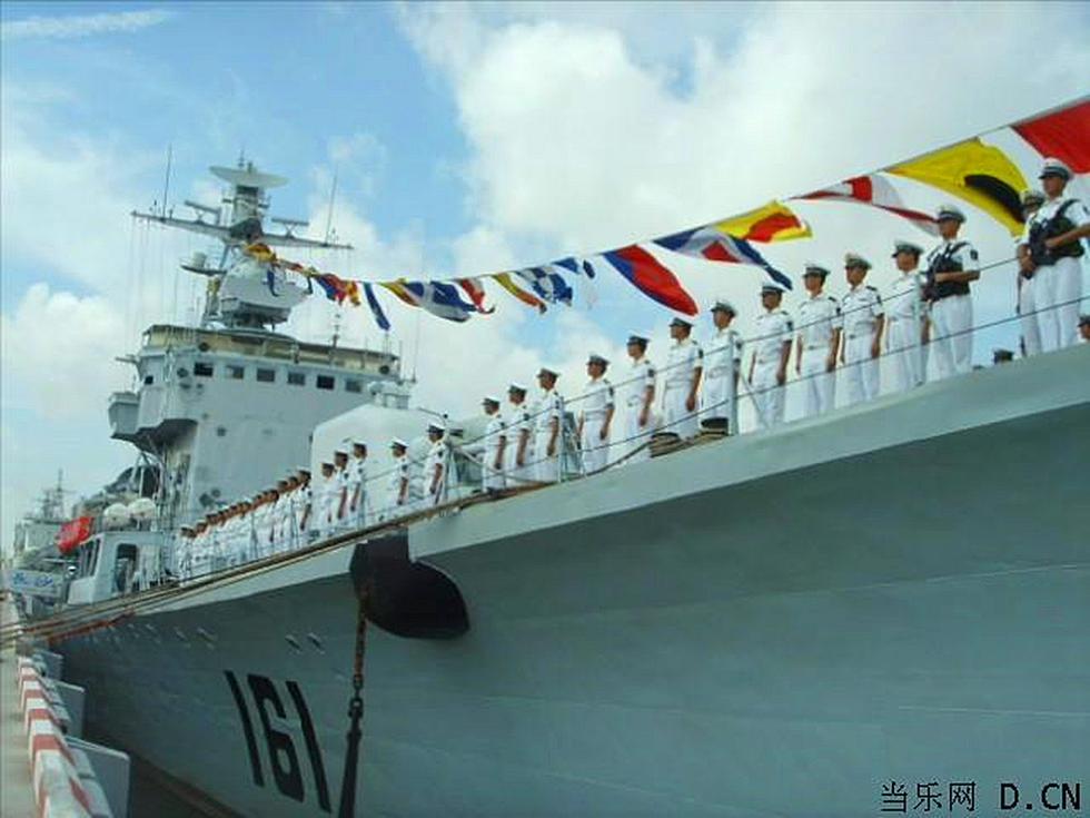 中国海军驱护舰大全