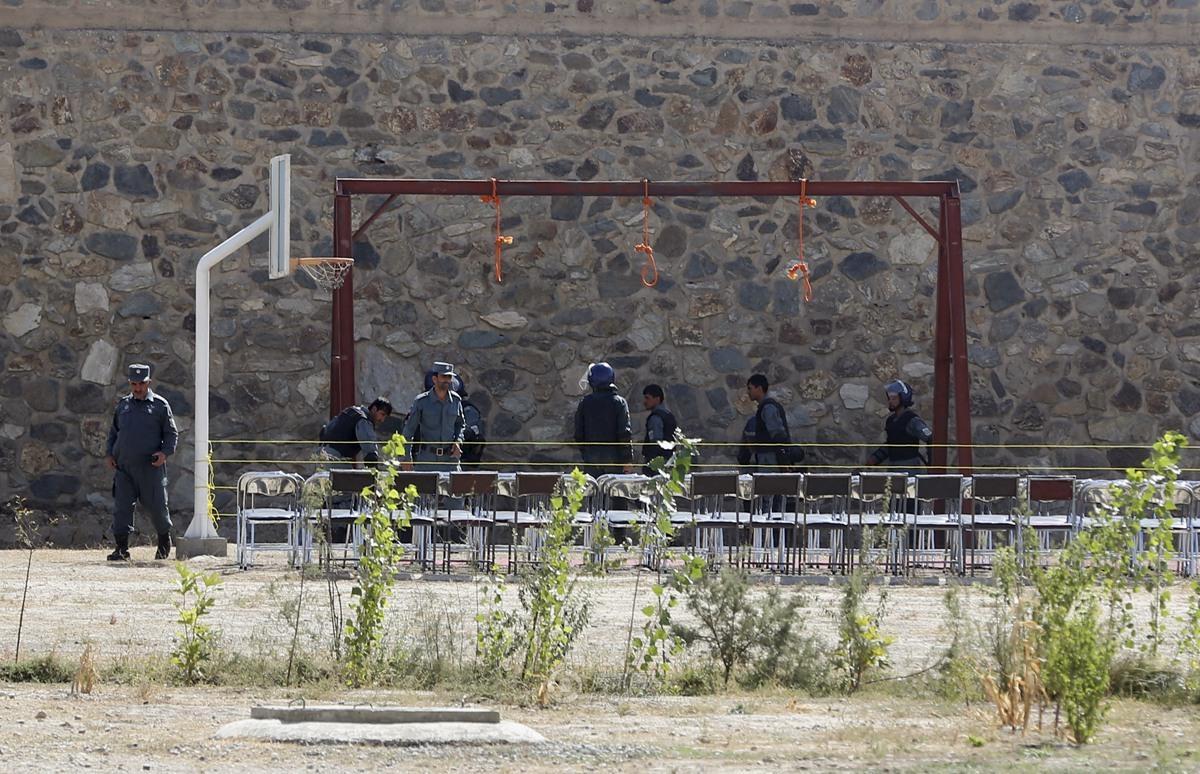 阿富汗5名男子因轮奸罪被执行绞刑