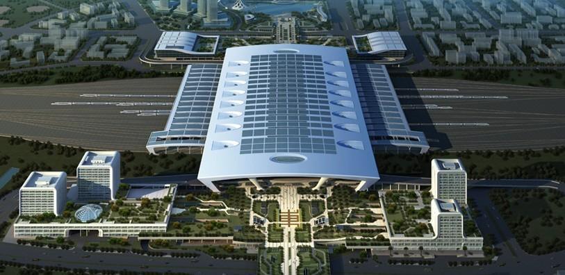 杭州东站.高清图片