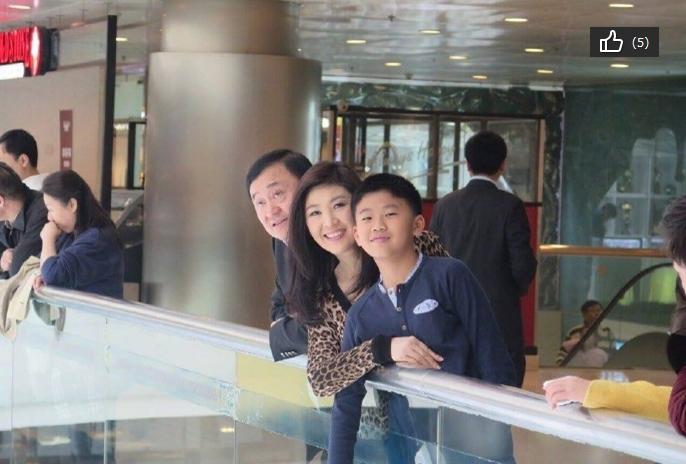 【转载】泰国前总理他信与英拉一家雾霾中游北京(图) - 思凤 - 思凤休闲居