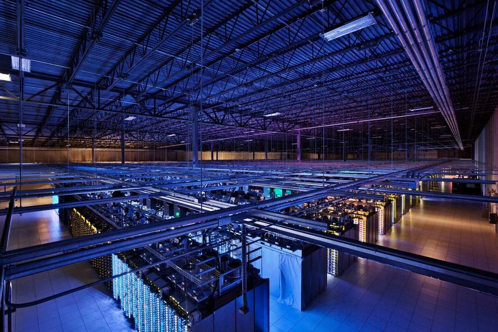 探访谷歌全球数据中心:看起来非常酷