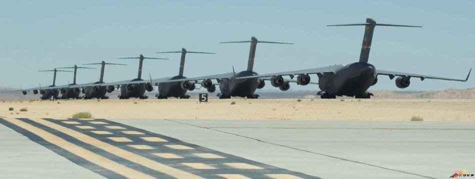 美国C-17环球霸王机群机群