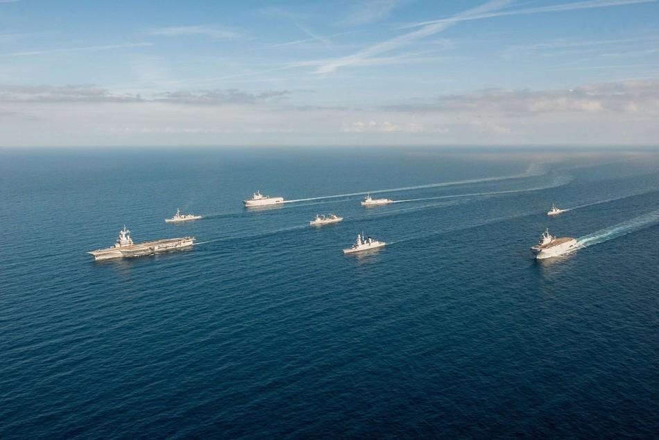 法国海军实力航母编队