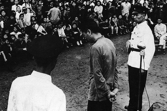 8年,杨进兴被逮捕归案,公审后被处死.-谍战1949图片