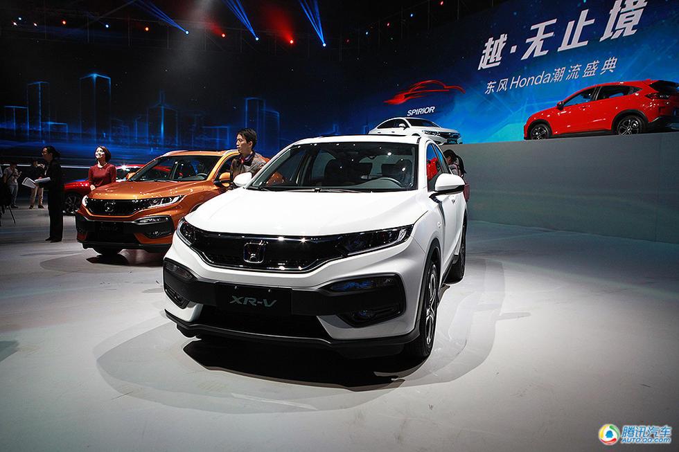 东风本田全新SUV车型XR-V正式上市,五款车型售价12.78-16.28万高清图片