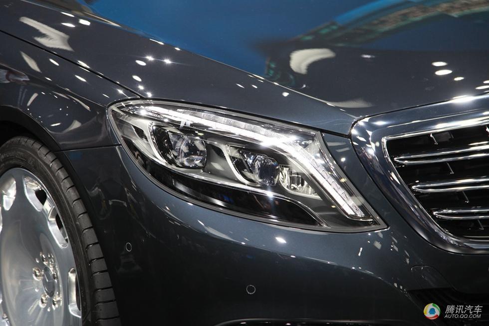 全led大灯同样继承自奔驰s级,辨识度高,照明效果好.高清图片